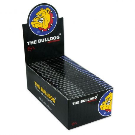 2500 CARTINE THE BULLDOG ONE 1/4 TRASPARENTI CORTE 50 PZ LIBRETTI SILVER