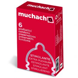 240 PRESERVATIVI MUCHACHO EXTRA LARGE PROFILATTICI XL 40 SCATOLE DA 6 KONDOM