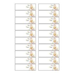 800 BIGLIETTINI BOMBONIERA 40 FOGLI A4 BIGLIETTI TRATTEGGIATI SANTA CRESIMA 2