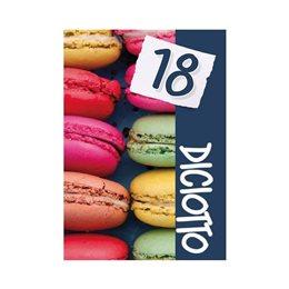 60 BIGLIETTINI INVITO BIGLIETTI INVITI FESTA COMPLEANNO 18 ANNI + BUSTA ID24