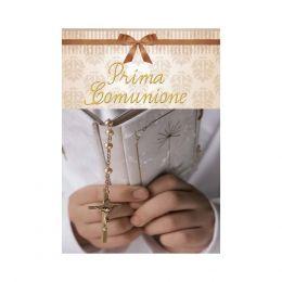 60 BIGLIETTINI INVITO BIGLIETTI INVITI FESTA PRIMA COMUNIONE + BUSTA ID12