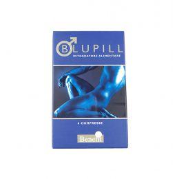 6 PILLOLE BLUPILL 1 CONFEZIONE INTEGRATORE ALIMENTARE VEGETALE PILLOLA BLU