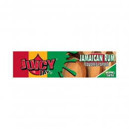 32 CARTINE JUICY JAY'S RUM LUNGHE KING SIZE KS AROMATIZZATE 1 LIBRETTO