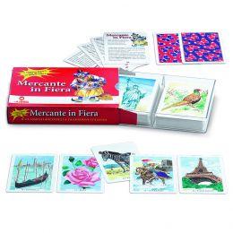 2 MAZZI 40 CARTE DA GIOCO JUEGO MERCANTE IN FIERA IN PLASTIFICA PROFESSIONALI + 20 CARTE