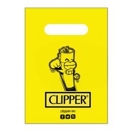 1 BUSTA REGALO GADGET CLIPPER CLIPPERMAN 21 X 15 CM CON MANIGLIA IN PLASTICA