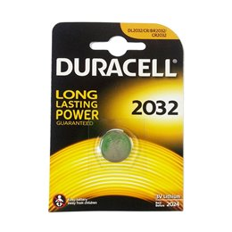 5 BATTERIE A BOTTONE DURACELL CR2032 LITIO 3 V PILE CR 2032