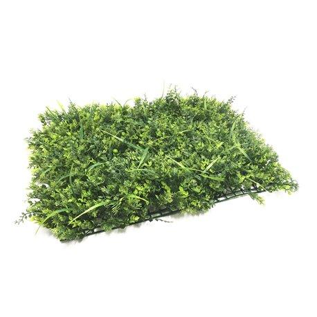 5 siepe artificiale finta tappeto erba bosso prato a mattonella per - Erba finta per giardino ...