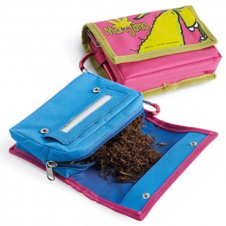 Porta tabacco soft Chilling Time MARIJANO in tessuto