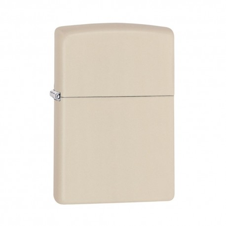 ACCENDINO ZIPPO ANTIVENTO A BENZINA LIGHTER REGULAR CREAM MATTE 216