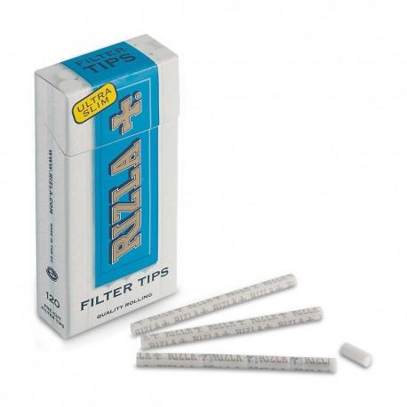 2400 FILTRI RIZLA ULTRA SLIM POPPATIPS 5,7 MM 20 SCATOLE DA 120 RUVIDI 1 BOX