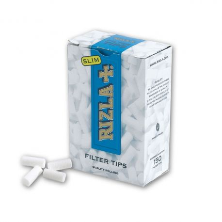 1500 FILTRI RIZLA SLIM 6 MM 10 SCATOLE DA 150 RUVIDI 1 BOX