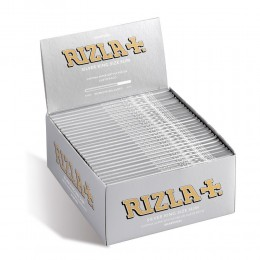 1600 CARTINE RIZLA SILVER LUNGHE KING SIZE 50 LIBRETTI KS ARGENTO 1 BOX