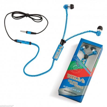 AURICOLARI RIZLA ZIP CUFFIE SMARTPHONE IPHONE IN EAR CON VOLUME E MICROFONO