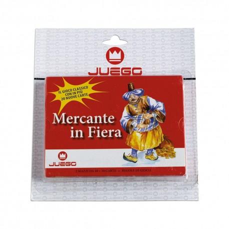 SET 100 CARTE DA GIOCO JUEGO MERCANTE IN FIERA 2 MAZZI GIOCO DA TAVOLO