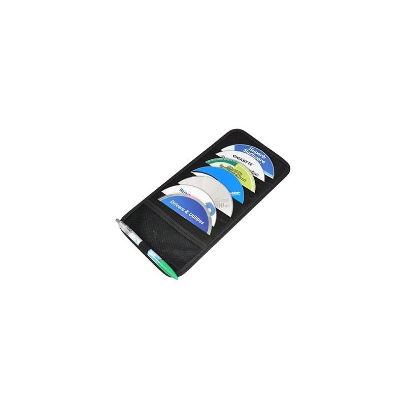10 porta cd dvd custodia x parasole auto raccoglitore 12 - Porta cd auto simpatici ...