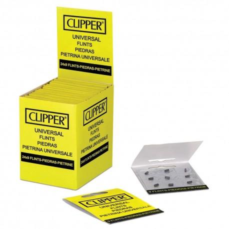 45 PIETRINE CLIPPER UNIVERSALI RICAMBIO ACCENDINI LIGHTER BLISTER DA 9 CR50009