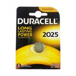 1 BATTERIA A BOTTONE DURACELL CR2032 LITIO 3 V PILE CR 2032