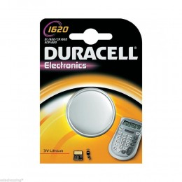 5 BATTERIE A BOTTONE DURACELL CR1620 LITIO 3 V PILE CR 1620 DL1620 ECR1620