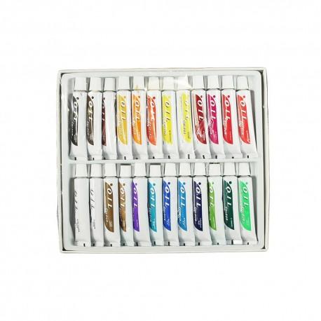 Colori ad olio (set 24 pezzi)