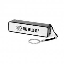 POWER BANK 2200 MAH THE BULLDOG AMSTERDAM CARICABATTERIA PORTATILE EMERGENZA
