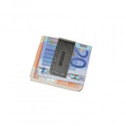 FERMA SOLDI BENZON IN METALLO VARI DISEGNI MONEY CLIP BANCONOTE MC33