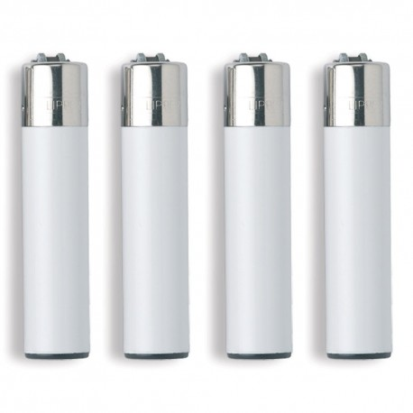1 ACCENDINO CLIPPER A GAS LARGE SOLID ARANCIONE ORANGE CLASSICO RICARICABILE
