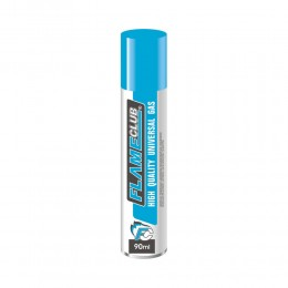 1 GAS BUTANO FLAME CLUB PER RICAMBIO RICARICA ACCENDINI LIGHTER BUTANE 90 ML