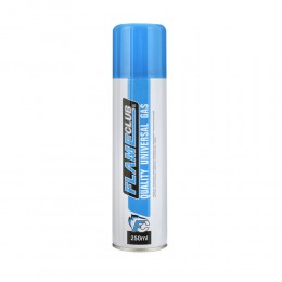 1 GAS BUTANO FLAME CLUB PER RICAMBIO RICARICA ACCENDINI LIGHTER BUTANE 250 ML