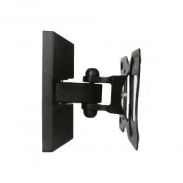 """STAFFA SUPPORTO TV LCD MONITOR BRACCIO UNIVERSALE PARETE 23 24 28 30"""" VESA"""