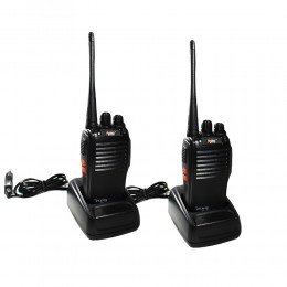 COPPIA RICETRASMITTENTI WALKIE TALKIE EITE FT-777S BATTERIE INCLUSE DISTANZA PMR446