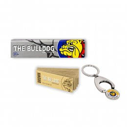 THE BULLDOG 165 CARTINE LUNGHE KS SILVER 200 FILTRI CARTA ECO PORTACHIAVI