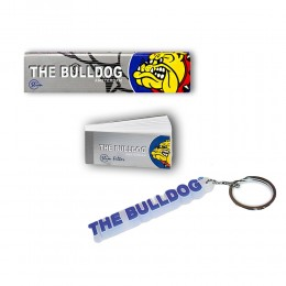 THE BULLDOG 165 CARTINE LUNGHE KS SILVER 200 FILTRI CARTA TIPS PORTACHIAVI