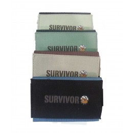 PORTATABACCO PINCH SURVIVOR IN CANVASS ASTUCCIO CARTINE ACCENDINO NERO