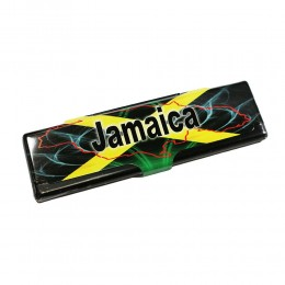 PORTACARTINE CHILLING TIME METALLO CASE SLIM CARTINE KING SIZE KS JAMAICA