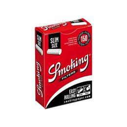 750 FILTRI SMOKING CLASSIC SLIM 6 MM 5 CONFEZIONI DA 150 RUVIDI INCARTATI 1 BOX