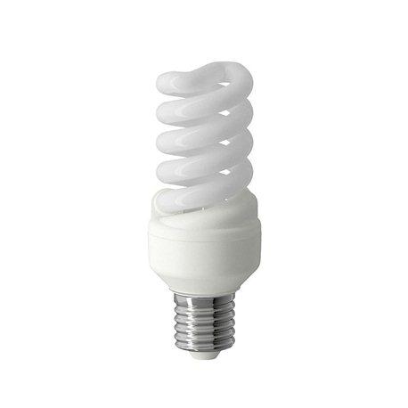 1 LAMPADINA A RISPARMIO ENERGETICO E27 11W LAMPADA A SPIRALE LUCE FREDDA BIANCA EXTRASTAR