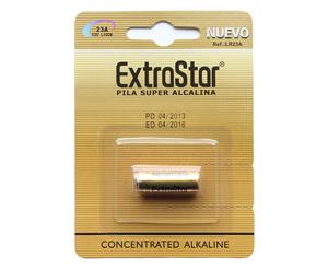 3 batterie extrastar pile 23 a lr a23 lrv08 mn21 k23a l1028 alcaline 12 v. Black Bedroom Furniture Sets. Home Design Ideas