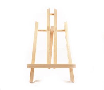 Cavalletto per pittura treppiede in legno da tavolo for Tavolo richiudibile in legno