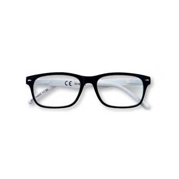 Occhiali da lettura zippo uomo donna unisex bianchi for Occhiali bianchi da vista